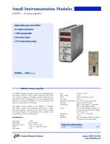 SIM983Scaling Amplifier