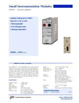 SIM984 — Isolation amplifier