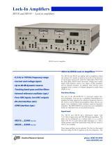 SR510/530 Lock-In Amplifiers