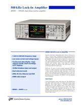 SR860 — 500 kHz dual phase lock-in amplifier