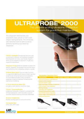 Ultraprobe 2000