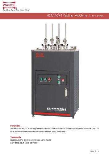 HDT VICAT testing machine