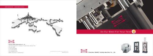 Testing machine catalogue - Wance