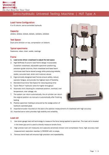 Universal Testing Machine (200kN~2000kN)