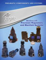 Modular precision regulators and manifold systems