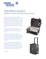 TransPort AuroraReliable, Portable Moisture Measurement