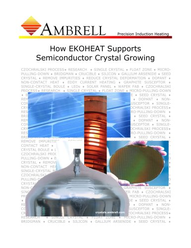 How EKOHEAT Supports Semiconductor Crystal Growing