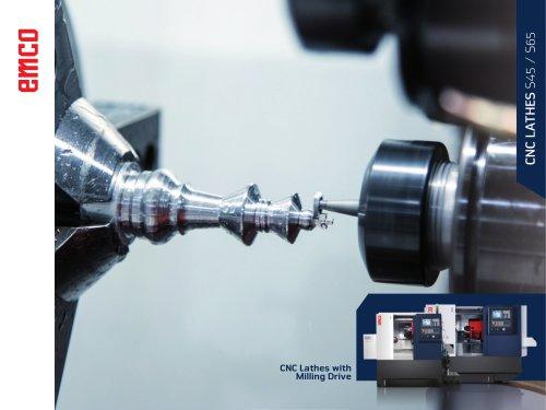 CNC Lathe S45