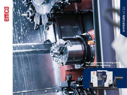 CNC-Turn-Mill Center HYPERTURN 45 G3