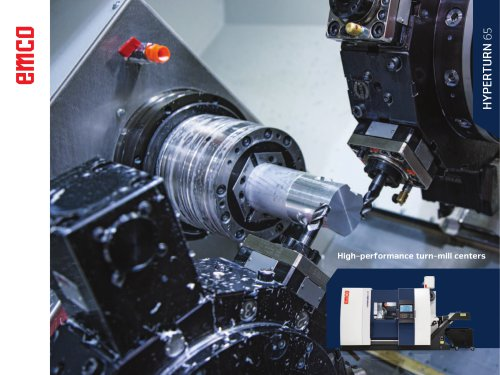 CNC-Turn-Mill Center Hyperturn 65 DT_TT