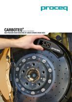 Carboteq - High precision wear indication of carbon ceramic brake discs