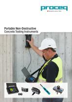 Portable Non-Destructive Concrete Testing Instruments