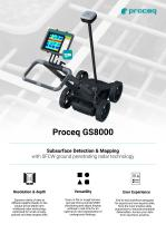 Proceq GS8000 | Subsurface Detection & Mapping with SFCW ground penetrating radar technology