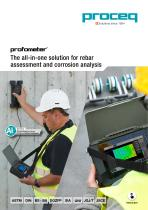 Profometer - The all-in-one solution for rebar assessment and corrosion analysisAdvanced Cover Meters