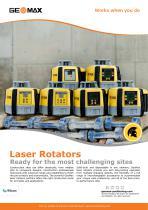 Laser Rotators Brochure - 1