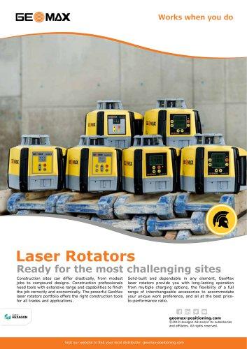 Laser Rotators Brochure