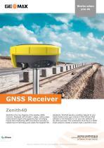 Zenith40 GNSS Receiver Brochure - 1