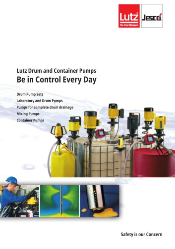Lutz Drum and Container Pumps