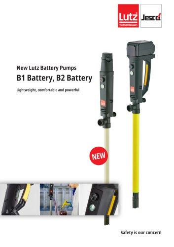 New Lutz Battery Pumps B1 Battery, B2 Battery