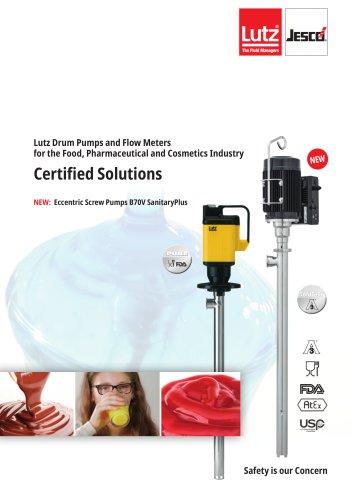 Pumps - PURE and SanitaryPlus