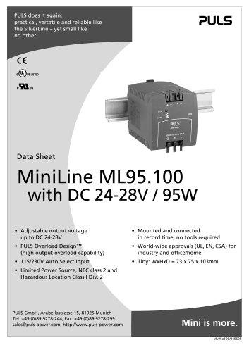 Puls Power Supply ML30.102 OVP