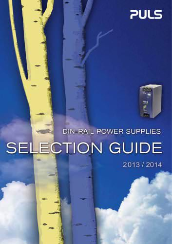 Selection Guide 2013