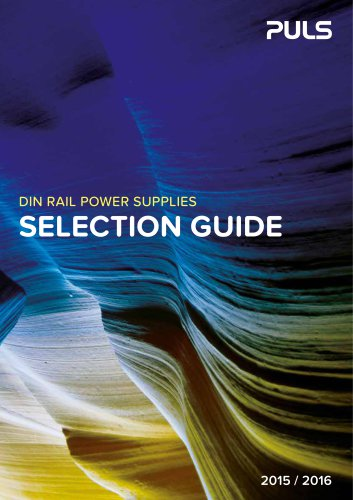 Selection Guide 2015/2016