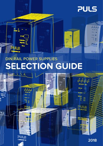 selection guide 2018