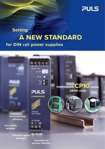 Setting a New Standard for DIN-Rail Power Supplies