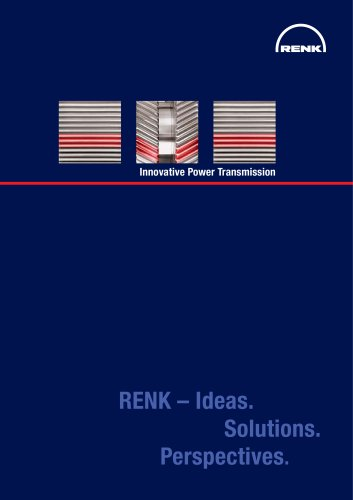 Innovative Power Transmission RENK –