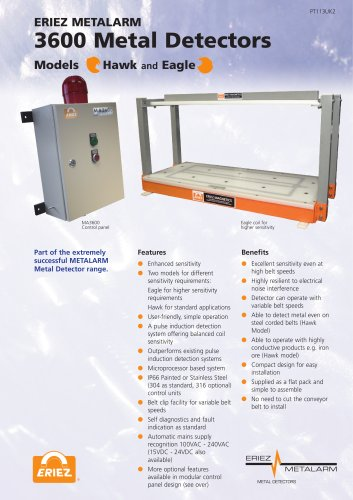 3600 Metal Detectors