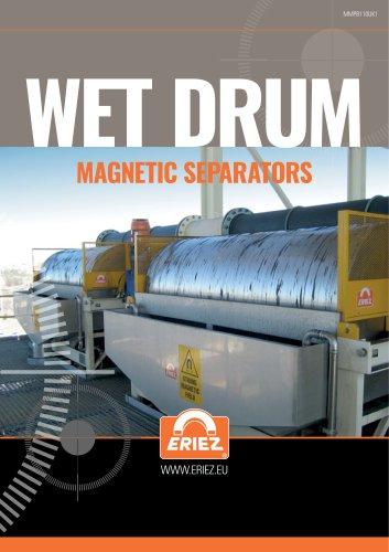 Magnetic Wet Drum Separator