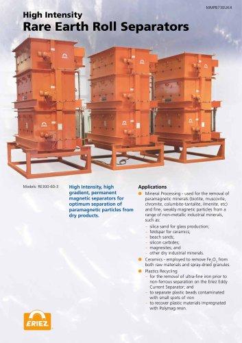 Rare Earth Roll Separators