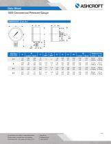 1005 Commercial Pressure Gauge - 4