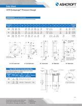 1379 Duragauge® Pressure Gauge - 4