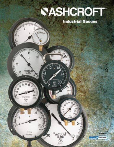 Industrial Gauges Type 1017
