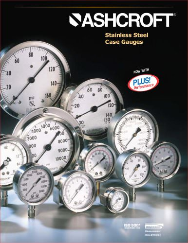 Stainless Steel Case Gauges - Type 1008 40mm & 50mm