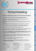 Pad catalog - 2