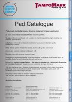Pad catalog - 3