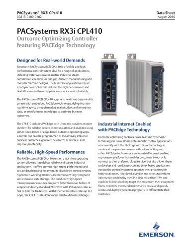 PACSystems RX3i CPL410