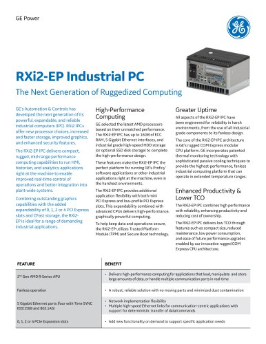 RXi2-EP Industrial PC