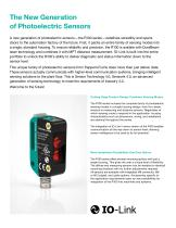 R100 Series | A Unique Family of Small Photoelectric Sensors - 2
