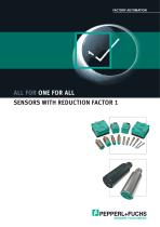 Sensors with reduction factor 1 - 1