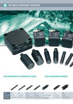 Sensors with reduction factor 1 - 6