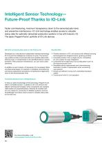 Sensors and Systems - Product Overview for Factory Automation - 10