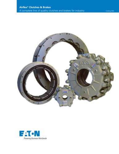 Airflex Clutches and Brakes Catalog Section A - General Information - 10M1297GP