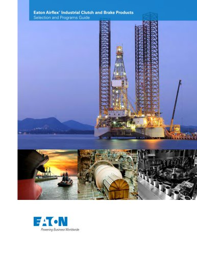 Eaton Airflex®  Industrial Clutch and Brake Products