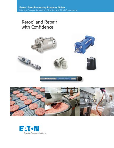 Eaton Food Processing - Eaton Hydraulics - PDF Catalogs | Technical
