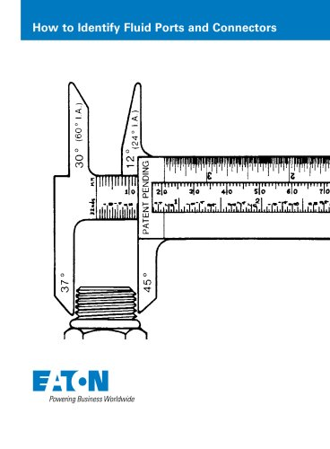 Eaton How to Identify Fluid Ports and Connectors