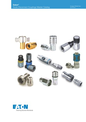 Eaton Quick Disconnect Couplings Master Catalog - EMEA